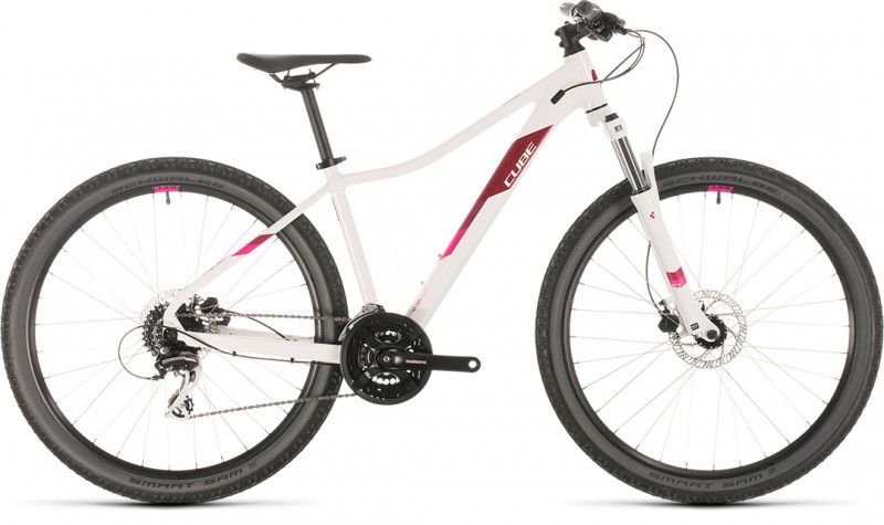 CUBE Access WS EAZ 27.5 white´n´berry 2020