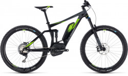 Cube STEREO HYBRID 140 Race 500 27.5 2018 Black´N´Green