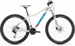 Cube Access WS Pro White´N´Blue 27.5