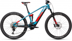 CUBE Stereo Hybrid 120 Race 625 blue´n´red 2021