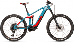 CUBE Stereo Hybrid 160 HPC Race 625 27.5 blue´n´red 2021
