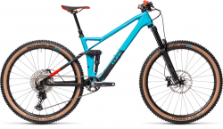 CUBE Stereo 140 HPC Race 27.5 petrol´n´red 2021