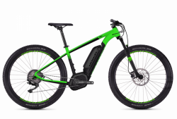 Ghost Teru B2.7+ AL 2018 400 Wh GREEN / BLACK